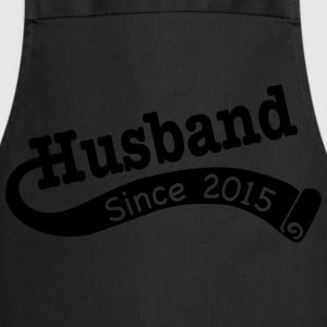 Husband Since 2015 T-Shirts - Cooking Apron