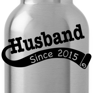 Husband Since 2015 T-Shirts - Water Bottle