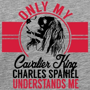Only my Cavalier King Charles Spaniel Other - Men's Premium T-Shirt