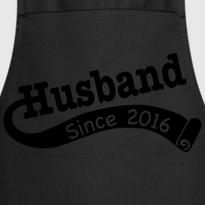 Husband Since 2016 T-Shirts - Cooking Apron
