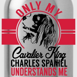 Alleen mijn Cavalier King Charles Spaniel T-shirts - Drinkfles