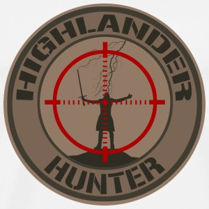 Highlander Hunter (Tan) - T-shirt Premium Homme