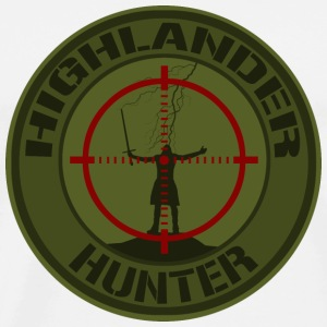 Highlander Hunter (OD) - T-shirt Premium Homme