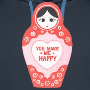 You Make Me Happy - Men's Premium Hoodie