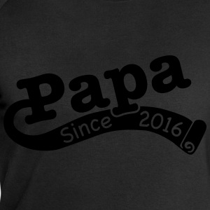 Papa Since 2016 T-Shirts - Men's Sweatshirt by Stanley & Stella