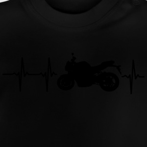 MY HEART BEATS FOR MOTORCYCLES Shirts - Baby T-Shirt