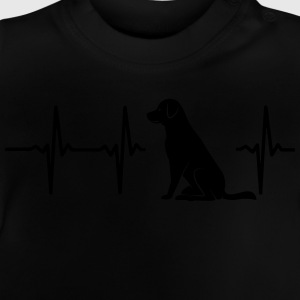 My heart beats for dogs Shirts - Baby T-Shirt