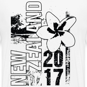 New Zealand 2017 Pikétröjor - Premium-T-shirt herr