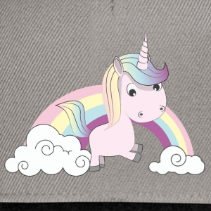 Licorne Rose Tee shirts - Casquette snapback