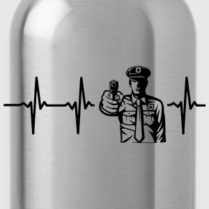 FROM THE HEART A COP! Tops - Water Bottle