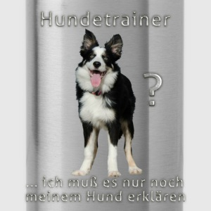 Hundetrainer-01 T-Shirts - Trinkflasche