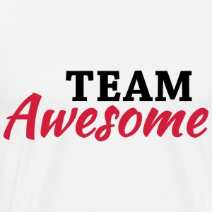 Team Awesome Sportkläder - Premium-T-shirt herr
