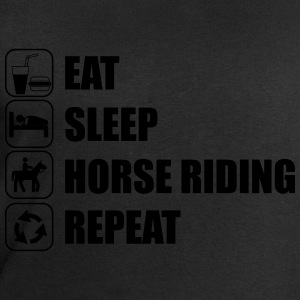 Eat Sleep Horse Riding  Tee shirts - Sweat-shirt Homme Stanley & Stella