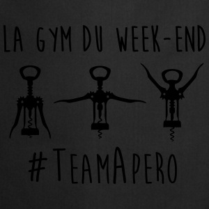gym week end Tee shirts - Tablier de cuisine