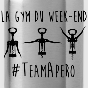 gym week end Tee shirts - Gourde