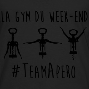 gym week end Tee shirts - T-shirt manches longues Premium Homme