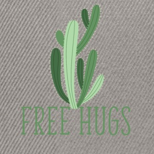free hugs cactus Tee shirts - Casquette snapback