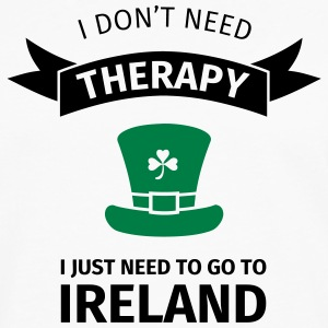 I don't neet therapy I just need to go to ireland Tee shirts - T-shirt manches longues Premium Homme