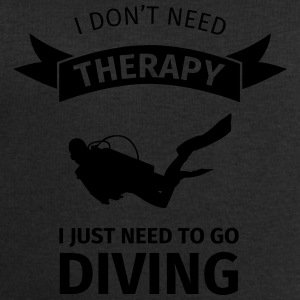 I don't neet therapy I just need to go diving Bouteilles et Tasses - Sweat-shirt Homme Stanley & Stella