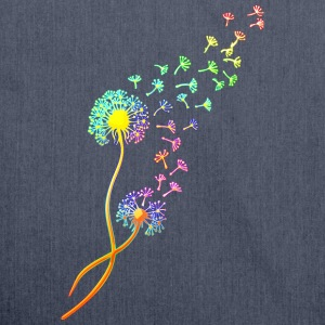 Dandelion blowball, flower, summer, garden, spring T-Shirts - Shoulder Bag made from recycled material
