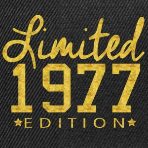 Limited 1977 Edition T-Shirts - Snapback Cap
