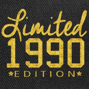 Limited 1990 Edition T-Shirts - Snapback Cap