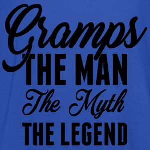 Gramps The Man The Myth The Legend T-Shirts - Women's Tank Top by Bella