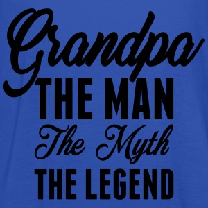 Grandpa The Man The Myth The Legend T-Shirts - Women's Tank Top by Bella