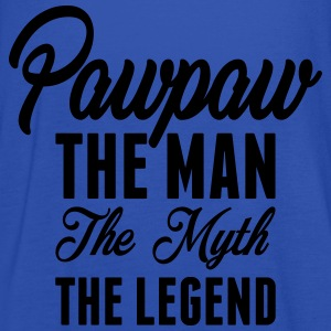 Pawpaw The Man The Myth The Legend T-Shirts - Women's Tank Top by Bella