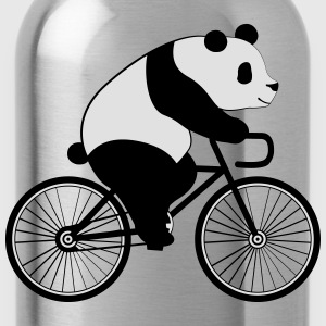 Panda Bicycle T-shirts - Vattenflaska