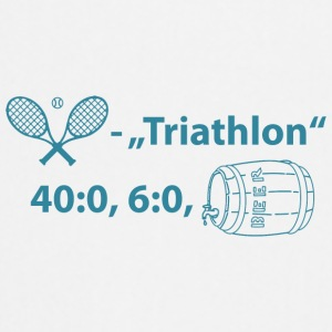 Tennis-Triathlon T-Shirt - Kochschürze