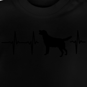 My heart beats for dogs! Hoodies - Baby T-Shirt