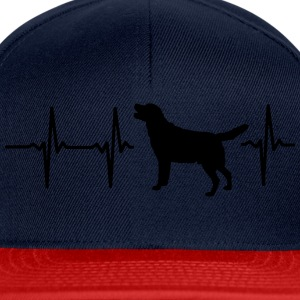 My heart beats for dogs! Shirts - Snapback Cap
