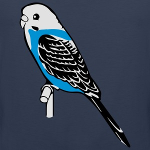 budgie bird pet T-Shirts - Men's Premium Tank Top