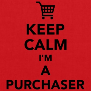 Keep calm I'm a Purchaser T-Shirts - Stoffbeutel