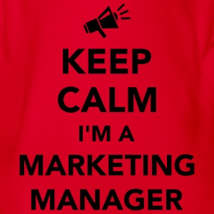 Keep calm I'm Marketing Manager T-Shirts - Baby Bio-Kurzarm-Body