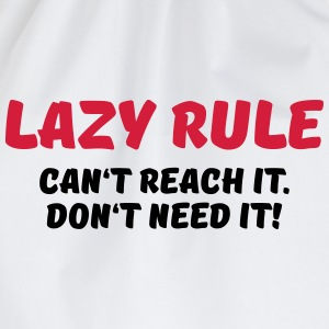 Lazy rule Sports wear - Drawstring Bag