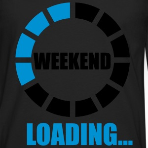 weekend loading T-shirts - Herre premium T-shirt med lange ærmer