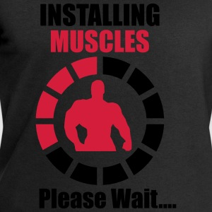 Installing Muscles (Loading) Funny Tee shirts - Sweat-shirt Homme Stanley & Stella