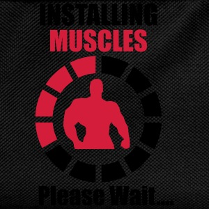 Installing Muscles (Loading) Funny Tee shirts - Sac à dos Enfant