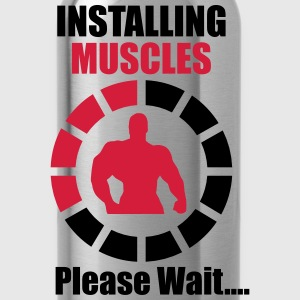 Installing Muscles (Loading) Funny Tee shirts - Gourde