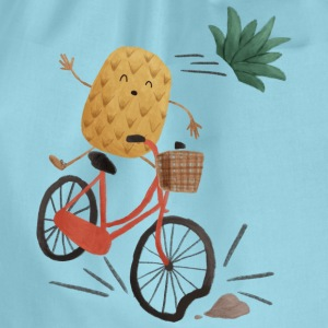 Pineapple Bike Obstacle T-shirts - Gymtas