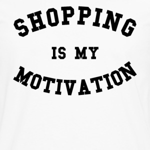 Shopping is my motivation - T-shirt manches longues Premium Homme