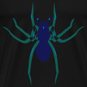 Spider, Spinne, Spiderman - Männer Premium T-Shirt