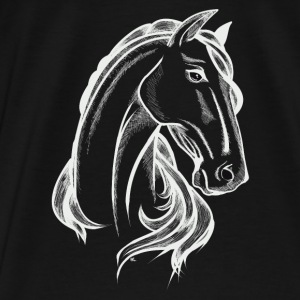 White Horse Hoodies & Sweatshirts - Men's Premium T-Shirt