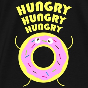 hungry Sweaters - Mannen Premium T-shirt