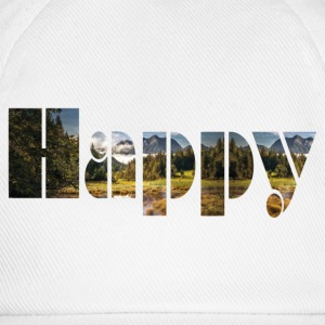 Happy - Baseballkappe