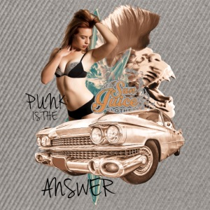 punk is the answer Pullover & Hoodies - Snapback Cap