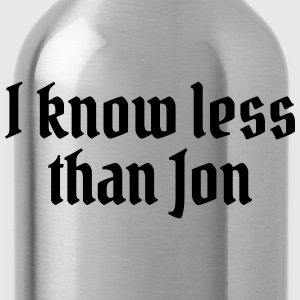 I know less than Jon Bluzy - Bidon