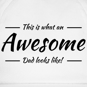 This is what an awesome dad looks like Langarmshirts - Baseballkappe